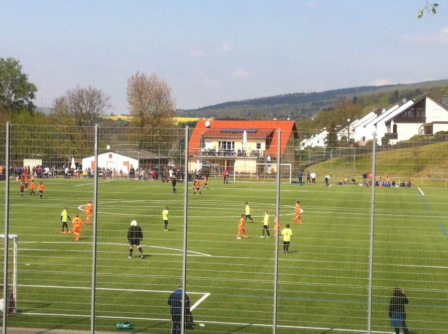 Sportliche Grüße vom Lochberg